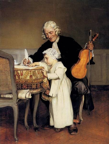 Eduard The Music Lesson